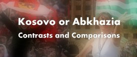 Comparative analysis between Kosovo and Abkhazia