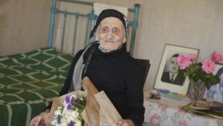 Fenya Latsushba was born in 1913 in the village of Djgerda.