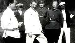 Stalin with Lavrenti Beria,1936
