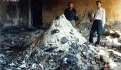 Abkhazia National Archives burn down