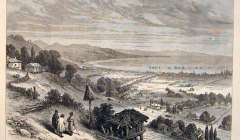 The War: Soukhoum Kaleh Russian Fortified Port Black Sea Turks Ships - Illustrated London News, 1877